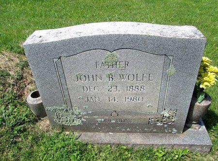 WOLFE, JOHN B. - Hancock County, Tennessee | JOHN B. WOLFE - Tennessee Gravestone Photos
