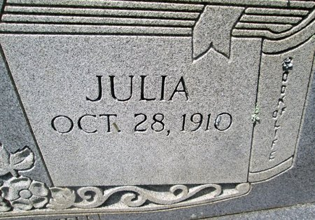 WOLFE, JULIA (CLOSE UP) - Hancock County, Tennessee | JULIA (CLOSE UP) WOLFE - Tennessee Gravestone Photos