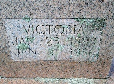 "WOLFE, MARY ""VICTORIA"" (CLOSE UP) - Hancock County, Tennessee   MARY ""VICTORIA"" (CLOSE UP) WOLFE - Tennessee Gravestone Photos"
