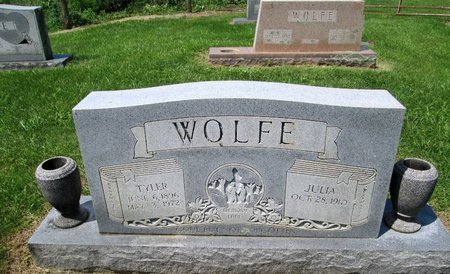 WOLFE, JULIA - Hancock County, Tennessee | JULIA WOLFE - Tennessee Gravestone Photos