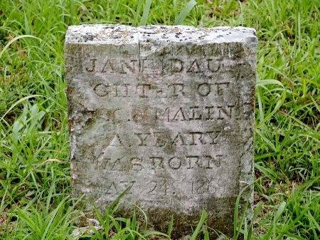 YEARY, JANE - Hancock County, Tennessee | JANE YEARY - Tennessee Gravestone Photos