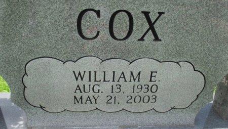 COX, WILLIAM EDWARD - Hardeman County, Tennessee | WILLIAM EDWARD COX - Tennessee Gravestone Photos