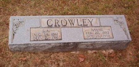 "DORRIS CROWLEY, MARY NANCY ""NANNIE"" - Hardeman County, Tennessee | MARY NANCY ""NANNIE"" DORRIS CROWLEY - Tennessee Gravestone Photos"