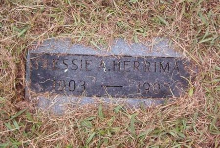 HERRIMAN, TRESSIE A. - Hardeman County, Tennessee | TRESSIE A. HERRIMAN - Tennessee Gravestone Photos