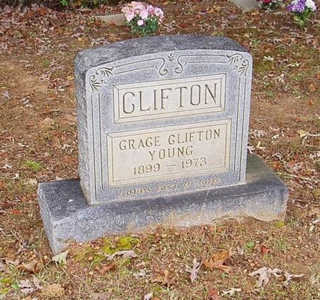 CLIFTON, GRACE - Hardeman County, Tennessee | GRACE CLIFTON - Tennessee Gravestone Photos