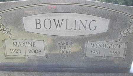 BOWLING, BARNEY WOODROW - Hardin County, Tennessee | BARNEY WOODROW BOWLING - Tennessee Gravestone Photos