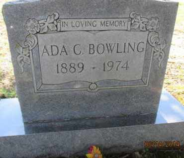 BOWLING, MARY ADA - Hardin County, Tennessee | MARY ADA BOWLING - Tennessee Gravestone Photos