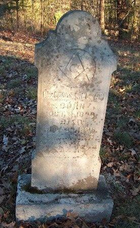 BROWN, LUCAS K, REV. - Hardin County, Tennessee | LUCAS K, REV. BROWN - Tennessee Gravestone Photos
