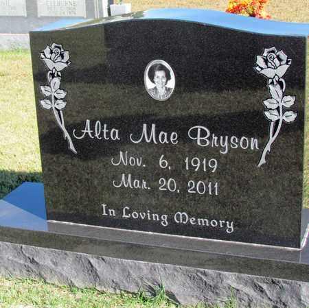 BRYSON, ALTA MAE - Hardin County, Tennessee   ALTA MAE BRYSON - Tennessee Gravestone Photos