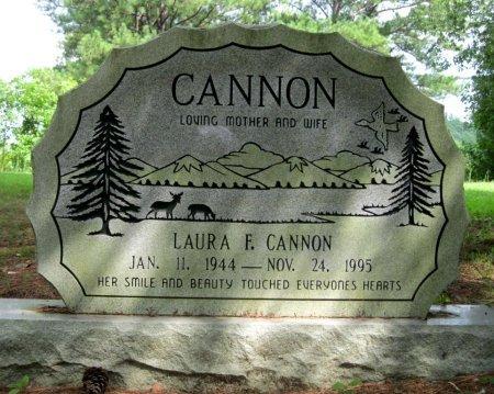 FRANKS CANNON, LAURA FRANCES - Hardin County, Tennessee | LAURA FRANCES FRANKS CANNON - Tennessee Gravestone Photos