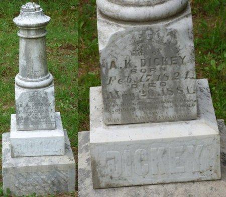 DICKEY, REBECCA B - Hardin County, Tennessee | REBECCA B DICKEY - Tennessee Gravestone Photos