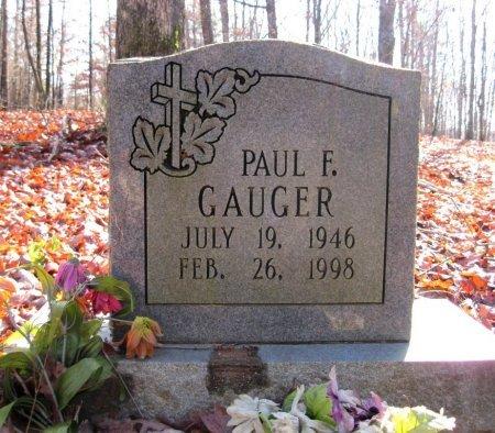 GAUGER, PAUL F. - Hardin County, Tennessee | PAUL F. GAUGER - Tennessee Gravestone Photos