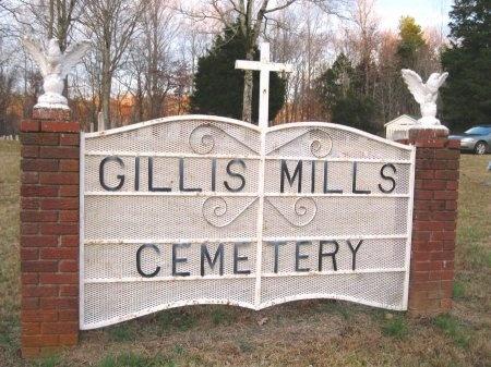 *GILLIS MILLS SIGN,  - Hardin County, Tennessee |  *GILLIS MILLS SIGN - Tennessee Gravestone Photos