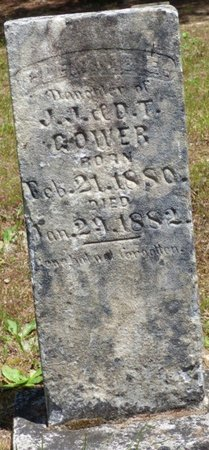 GOWERS, CLEMINE - Hardin County, Tennessee | CLEMINE GOWERS - Tennessee Gravestone Photos