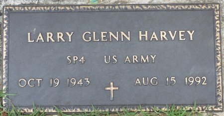 HARVEY (VETERAN), LARRY GLEN - Hardin County, Tennessee | LARRY GLEN HARVEY (VETERAN) - Tennessee Gravestone Photos