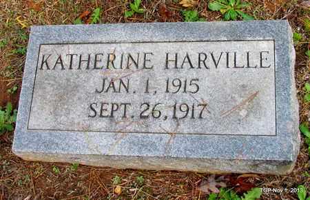 HARVILLE, KATHERINE - Hardin County, Tennessee | KATHERINE HARVILLE - Tennessee Gravestone Photos