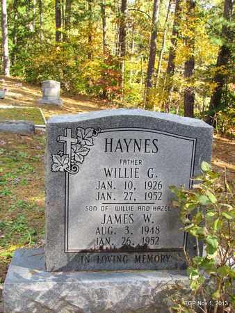 HAYNES, JAMES W. - Hardin County, Tennessee   JAMES W. HAYNES - Tennessee Gravestone Photos
