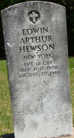 HEWSON (VETERAN), EDWIN ARTHUR - Hardin County, Tennessee | EDWIN ARTHUR HEWSON (VETERAN) - Tennessee Gravestone Photos