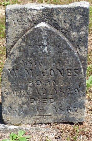 JONES, M - Hardin County, Tennessee | M JONES - Tennessee Gravestone Photos