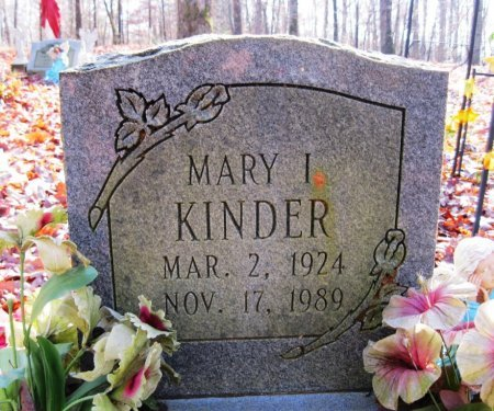 LEHNERT KINDER, MARY ISABELLE - Hardin County, Tennessee | MARY ISABELLE LEHNERT KINDER - Tennessee Gravestone Photos
