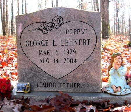 "LEHNERT, GEORGE LEROY ""POPPY"" - Hardin County, Tennessee | GEORGE LEROY ""POPPY"" LEHNERT - Tennessee Gravestone Photos"