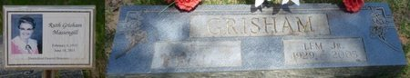 GRISHAM JR., LEM - Hardin County, Tennessee | LEM GRISHAM JR. - Tennessee Gravestone Photos