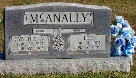 MCANALLY, CYNTHIA A. - Hardin County, Tennessee | CYNTHIA A. MCANALLY - Tennessee Gravestone Photos