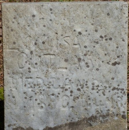 OUTLAW, LOUISA - Hardin County, Tennessee | LOUISA OUTLAW - Tennessee Gravestone Photos