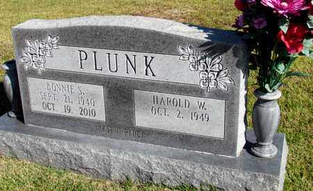 PLUNK, BONNIE S. - Hardin County, Tennessee | BONNIE S. PLUNK - Tennessee Gravestone Photos