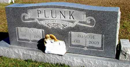 PLUNK, ROSCOE - Hardin County, Tennessee | ROSCOE PLUNK - Tennessee Gravestone Photos