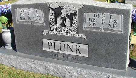 PLUNK, JAMES T. - Hardin County, Tennessee | JAMES T. PLUNK - Tennessee Gravestone Photos