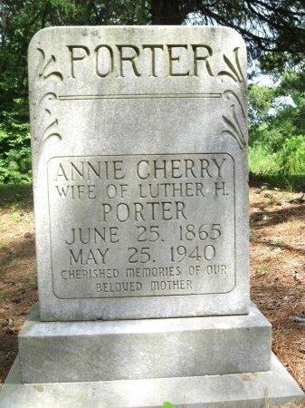 CHERRY PORTER, ANNIE MARGARET - Hardin County, Tennessee | ANNIE MARGARET CHERRY PORTER - Tennessee Gravestone Photos
