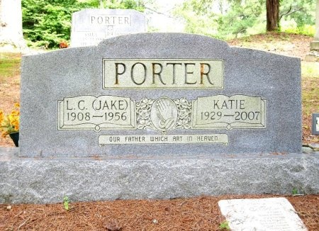 "PORTER, LUTHER CHERRY ""JAKE"" - Hardin County, Tennessee | LUTHER CHERRY ""JAKE"" PORTER - Tennessee Gravestone Photos"