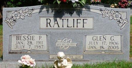 RATLIFF, BESSIE P - Hardin County, Tennessee   BESSIE P RATLIFF - Tennessee Gravestone Photos