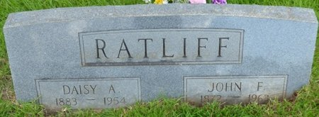 RATLIFF, JOHN F - Hardin County, Tennessee   JOHN F RATLIFF - Tennessee Gravestone Photos