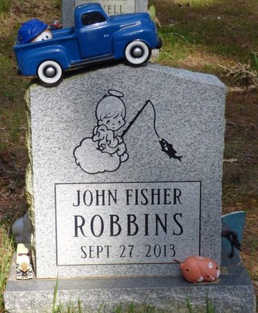 ROBBINS, JOHN FISHER - Hardin County, Tennessee | JOHN FISHER ROBBINS - Tennessee Gravestone Photos