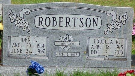 RATLIFF ROBERTSON, LOUELLA - Hardin County, Tennessee | LOUELLA RATLIFF ROBERTSON - Tennessee Gravestone Photos