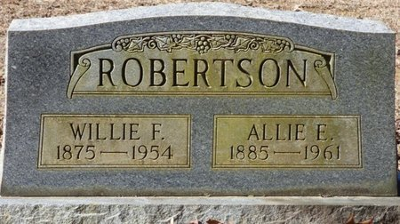 ROBERTSON, WILLIE F - Hardin County, Tennessee | WILLIE F ROBERTSON - Tennessee Gravestone Photos