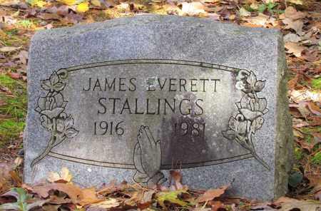 STALLINGS, JAMES EVERETT - Hardin County, Tennessee | JAMES EVERETT STALLINGS - Tennessee Gravestone Photos
