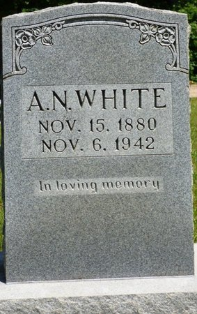 WHITE, A.N. - Hardin County, Tennessee | A.N. WHITE - Tennessee Gravestone Photos