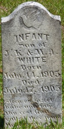 WHITE, INFANT SON - Hardin County, Tennessee   INFANT SON WHITE - Tennessee Gravestone Photos
