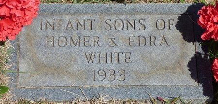 WHITE, INFANT SONS - Hardin County, Tennessee | INFANT SONS WHITE - Tennessee Gravestone Photos