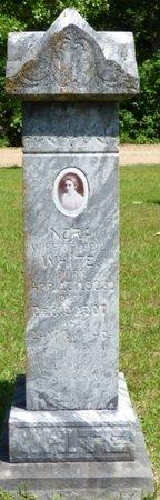 WHITE, NORA - Hardin County, Tennessee | NORA WHITE - Tennessee Gravestone Photos
