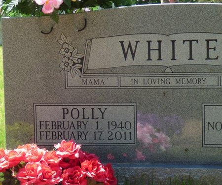WHITE, POLLY - Hardin County, Tennessee | POLLY WHITE - Tennessee Gravestone Photos