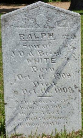 WHITE, RALPH - Hardin County, Tennessee | RALPH WHITE - Tennessee Gravestone Photos