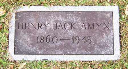 AMYX, HENRY JACK - Hawkins County, Tennessee | HENRY JACK AMYX - Tennessee Gravestone Photos