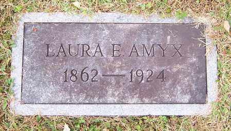 COLLINS AMYX, LAURA E. - Hawkins County, Tennessee | LAURA E. COLLINS AMYX - Tennessee Gravestone Photos