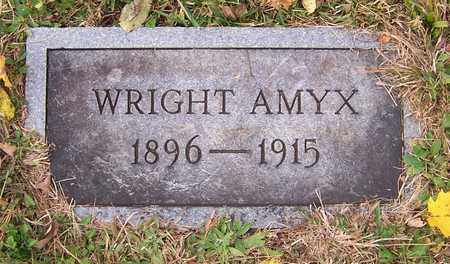 AMYX, WRIGHT - Hawkins County, Tennessee   WRIGHT AMYX - Tennessee Gravestone Photos