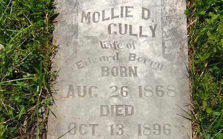 BERRY, MOLLIE D. (CLOSE UP) - Hawkins County, Tennessee   MOLLIE D. (CLOSE UP) BERRY - Tennessee Gravestone Photos