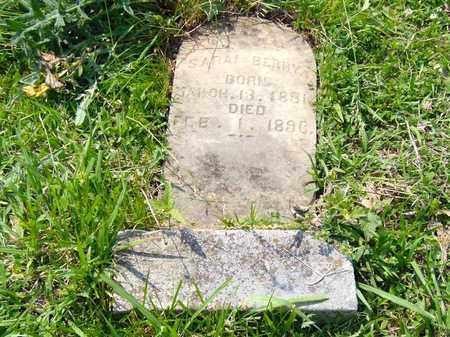 WALKER BERRY, SARAH - Hawkins County, Tennessee   SARAH WALKER BERRY - Tennessee Gravestone Photos